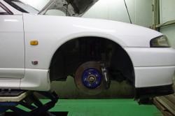 R33GT-Rのディスクパッド交換とブレーキフルード交換 サムネイル画像