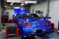 R34GT-RエンジンECUセッティング調整による燃費改善 サムネイル画像