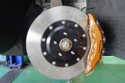 アルコンΦ400mmブレーキディスクローター取付  サムネイル画像