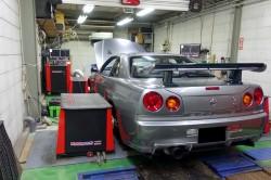 HKS GT3-RSタービン取り付けとECUセッティング調整 サムネイル画像