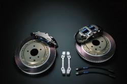 MIDORI&ENDLESS鍛造モノブロック4POTキャリパー&2ピースローター(リア用)画像