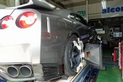R35GT-R 車検とホイールアライメント測定調整 サムネイル画像