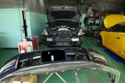 R35GT-R トラスト製ターボパイプとサクションパイプ取付 サムネイル画像