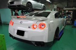 R35GT-R 車検整備とブレーキキャリパーオーバホール サムネイル画像