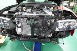 MIDORI R134a スクロールコンプレッサーキット取付 サムネイル画像