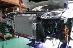 R35GT-R PWR製ラジエター取付とHKS DCTオイルクーラー取付 サムネイル画像