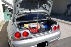 R33GT-Rのトランクダンパー交換 サムネイル画像