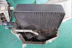 MIDORI R33GT-R用スクロールコンプレッサーキット取付 サムネイル画像